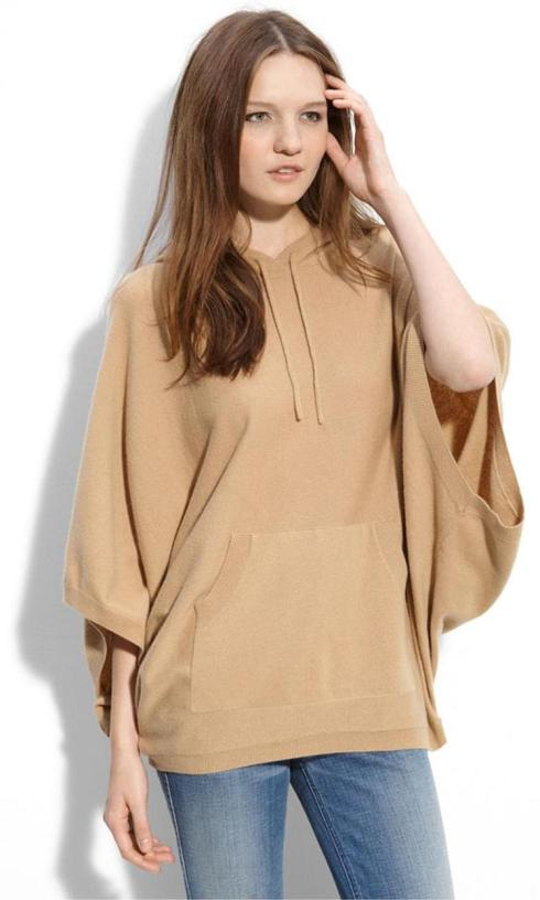 Wilster 'Ellington' Hooded Poncho $194