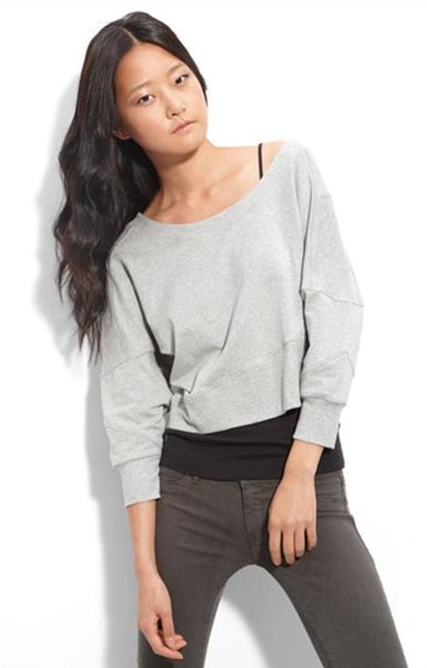 Aiko 'Vladimir' Crop Sweatshirt $84.90