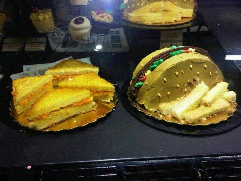 Von's Grilled Cheese & Hamburger Fries Cakes