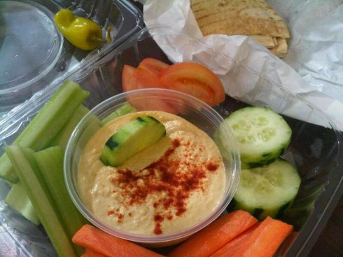 Hummus Plate Lunch
