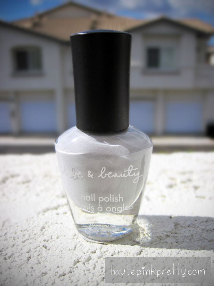 HautePinkPretty - Grey Nail Polish