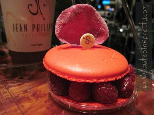 Jean Philippe Patisserie's Rose Macaron