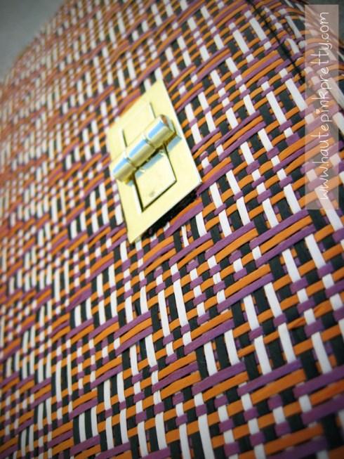 An Dyer's Woven H&M Clutch