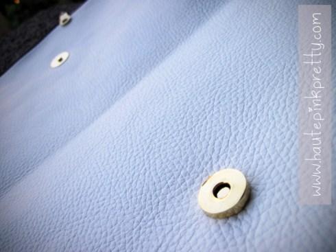 Jeffrey Lazaro White Leather Handmade Bag