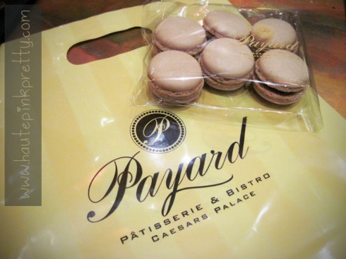 Payard Patisserie & Bistro Restaurant Coffee Macarons