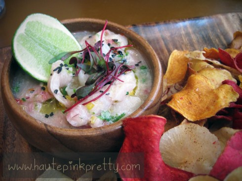 The Overlook Grill at The Cosmopolitan Market Ceviche