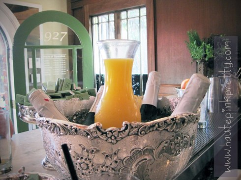 Alcove Cafe Mimosa