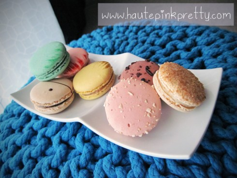lette macaron pistachio, rose, coffee, sea salt caramel, pink wedding, chocolate and coconut