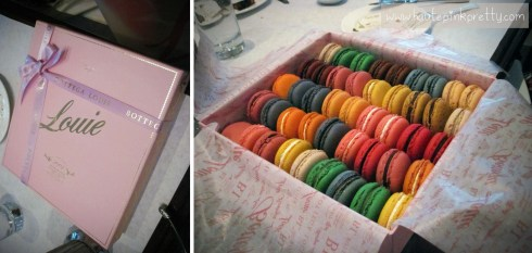 Bottega Louie Macaron Box of 48