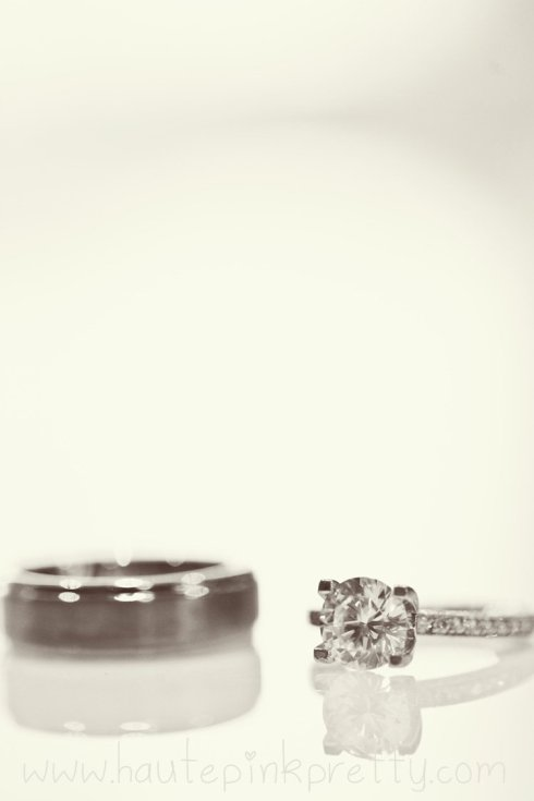 Dyer Wedding - Tacori Rings