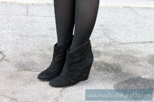 An Dyer in SoleSociety Abby Boots with Black Tights