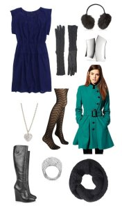 What to wear for a fall winter spring cold engagement photo shoot for her