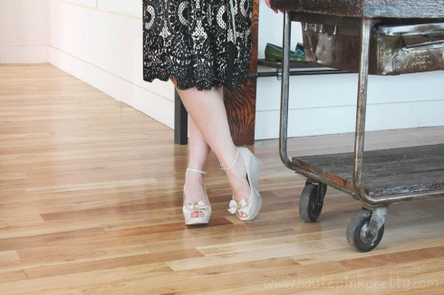 An Dyer at Moo Venice in Diane von Furstenberg Dress, Forever21 Ring and Moo Venice Shoes