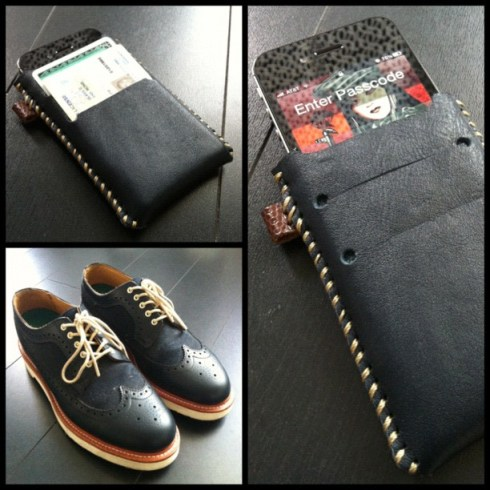 Hauskrft iPhone Sleeve inspired by a killer pair of Doc Martens