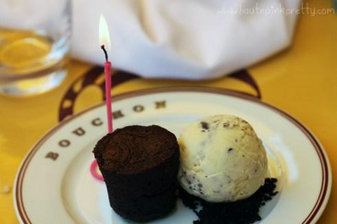 Bouchon Bistro brunch, birthday