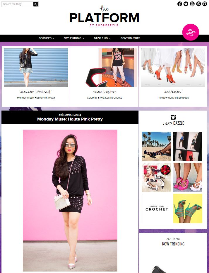 ShoeDazzle Monday Muse