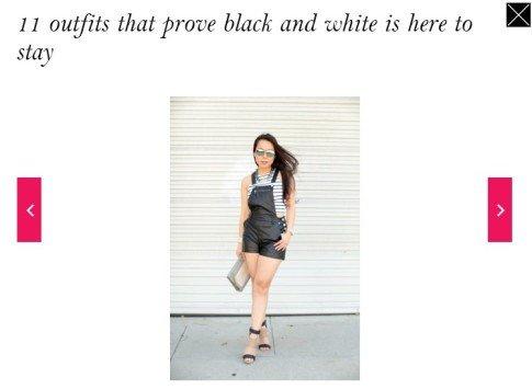 StyleList Black & White