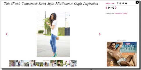 StyleList Street Style Mid-Summer Outfit Inspiration