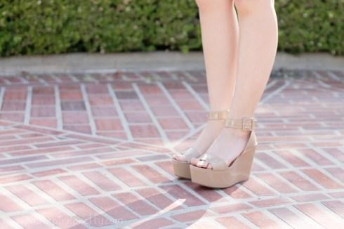 www.HautePinkPretty.com - An Dyer wearing  BCBGeneration Lee Flatforms