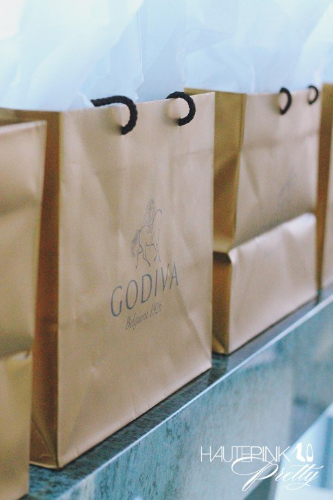 Duff Goldman x Godiva - Limited Edition Cake Truffle Press Event - Gift Bags