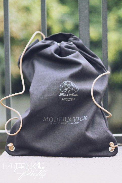 Modern Vice x Natalie & Dylana Suarez JETT BOOT in Black  BAG