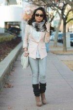 1-an-dyer-in-hm-pink-linen-blazer-forever-21-sheer-striped-ruffle-blouse-faux-fur-snood-charcoal-leg-warmers-fendi-classico-sunglasses-mellie-bianco-creme-bag-bcbgeneration-josan