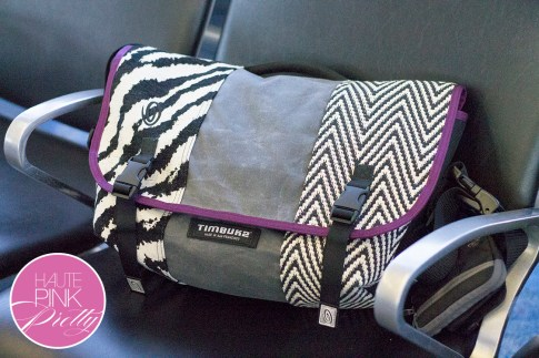 An Dyer HautePinkPretty Custom Designed Timbuk2 Messenger Laptop Bag Made in SF