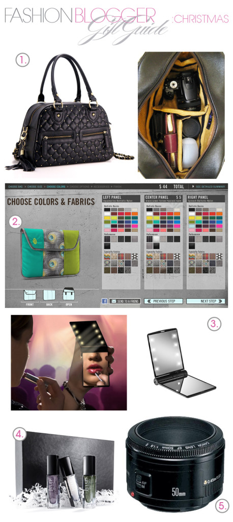 Christmas Gift Guide for your Fashion Blogger Friend