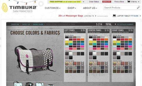 Timbuk2 Custom Design Process