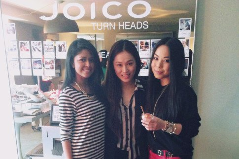 Joico's TURNHEADS Event at the SLS Hotel - Sheryl Luke WalkInWonderland, Joo Kim LoveJooKim, An Dyer HautePinkPretty