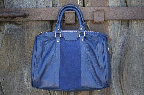 Sole Society Kaylin Handbag in Navy