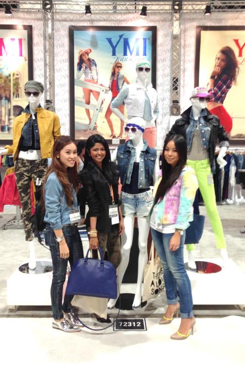 roadtoMAGIC YMI Jeans Booth with LoveJooKim & WalkInWonderland