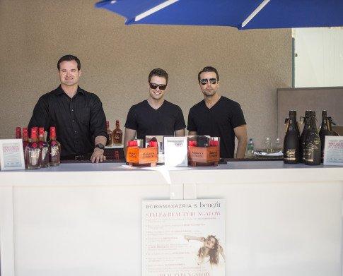 Makers Mark Bartenders Mixologist BCBGMaxazria Benefit Beauty Bungalow Coachella 2013