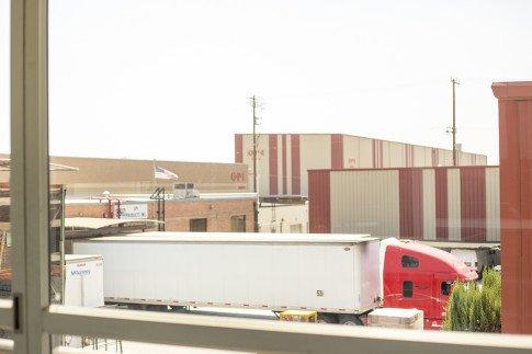Vogue Influencers Visit OPI Headquarters - Manufacturing Buildings