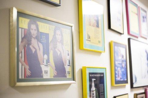 Vogue Influencers Visit OPI Headquarters - Vintage OPI Advertisements
