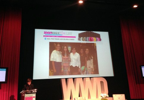 WWD Summit WWD Digital Forms wwddig OPI Co Founder Suzi Weiss-Fischmann speaking - teenVogue it List - Beth Jones BJonesStyle, Marra Ferreira MLovesM, Sheryl Luke WalkInWonderland, An Dyer HautePinkPretty