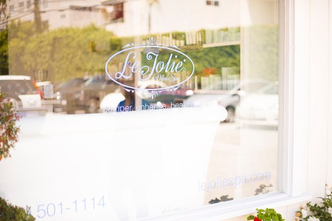 Spa Day with HautePinkPretty and Le Jolie Spa in Studio City, CA
