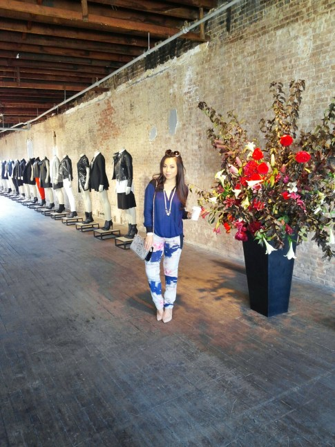 NYFW Day 4 started off early with the AllSaints Spring 2014 Presentation (check out my instagram video of it here!)