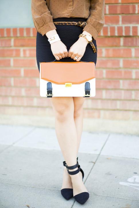 Faux Fur Fall Fashion Outfit Inspiration