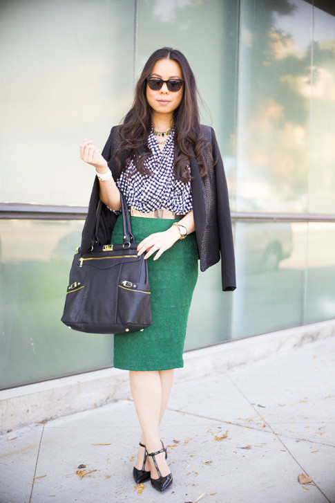 Fall Fashion at the Office - Corporate Outfit