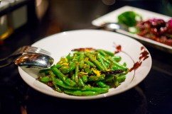 Charred Chinese String Beans