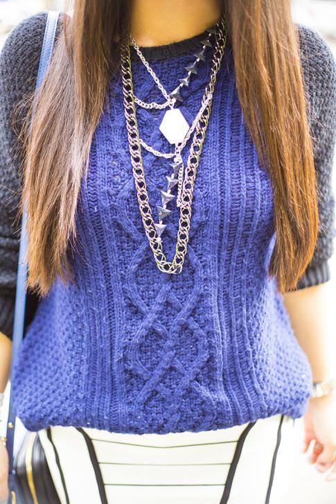 Purple Aura Draco Necklace
