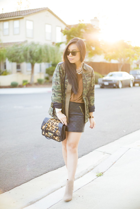 Camo & Leopard Street Style