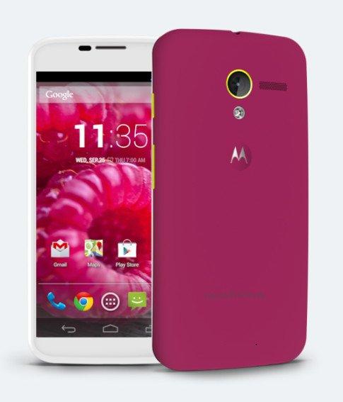 Customized Motorola Moto X