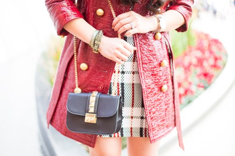 Red Trench Coat