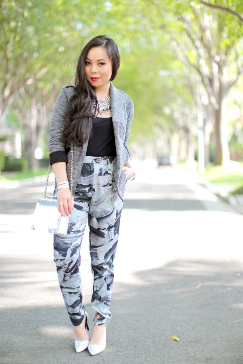 Black & White Spring Outfit