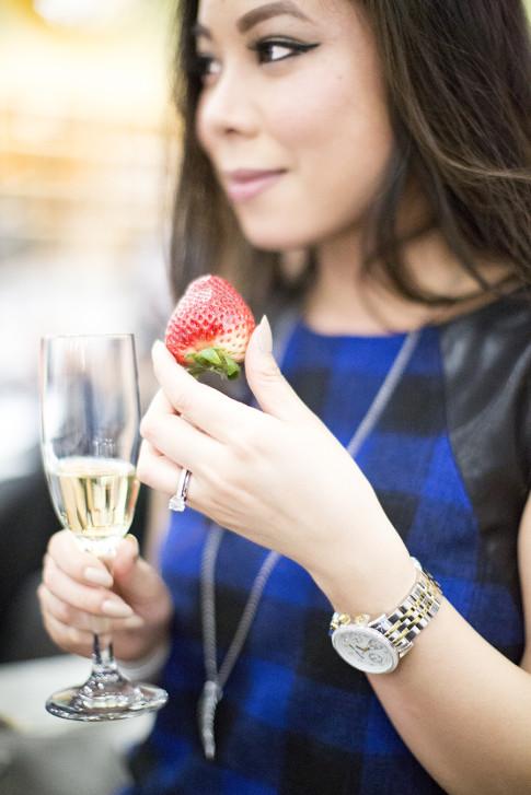 BevMoRiverside Strawberries & Champagne