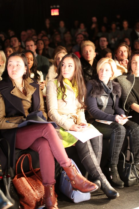 HautePinkPretty An Dyer Front Row Herve Leger FW14 MBFW Runway Show Lincoln Center Theatre