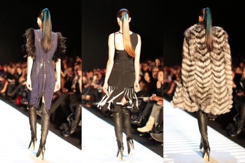 Herve Leger AW14 Runway Hair Lincoln Center Theatre NYFW