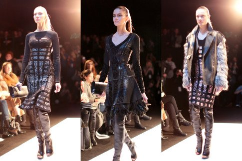 Herve Leger AW14 Runway Lincoln Center Theatre NYFW